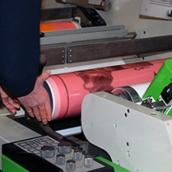 Лента двусторонняя для флексопечати на пленочной основе